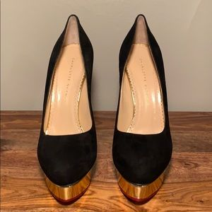 Charlotte Olympia Shoes - Brand New Charlotte Olympia Dolly Heels